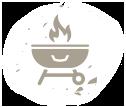 vegan BBQ icon