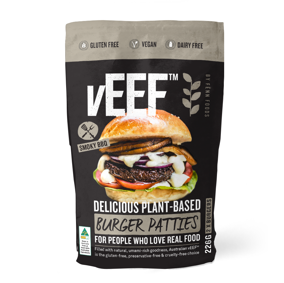 Veef Australian Plant Based Burger Patties