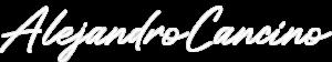 Alejandro Cancino signature