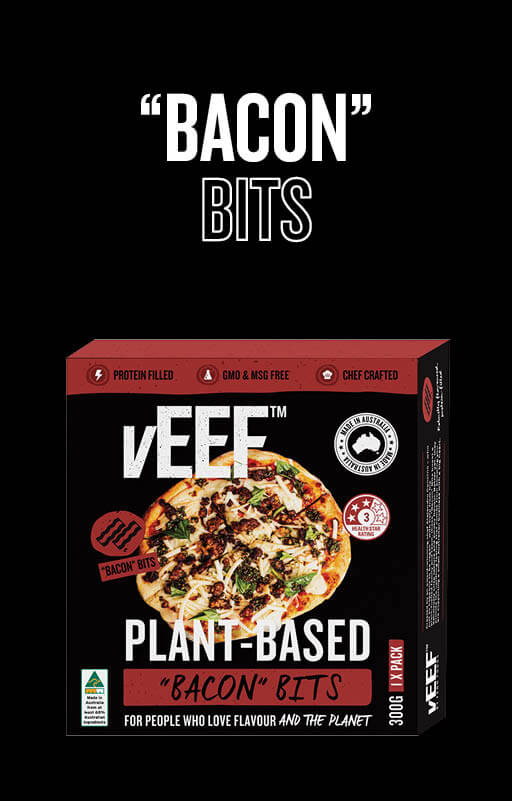 "Explore vEEF ""Bacon"" Bits Product"