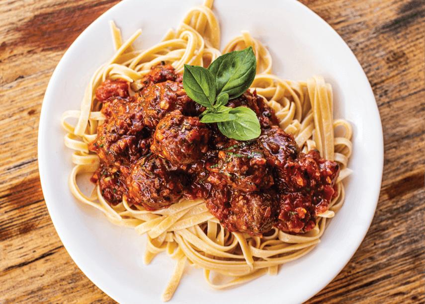 vEEF Spaghetti Bolognese