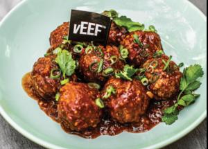 vEEF Spicy Singaporean Chilli Meatballs