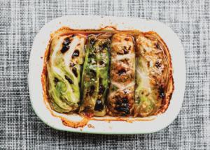 vEEF Stuffed Cabbage Rolls
