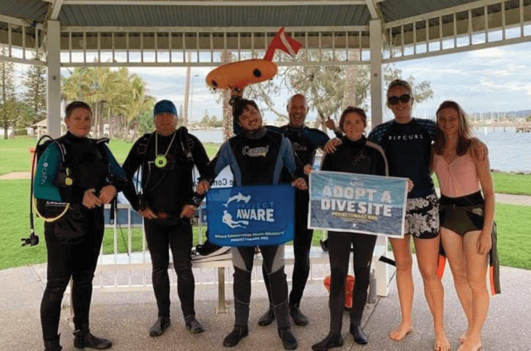 Sunshine Coast Clean Up Divers Volunteers