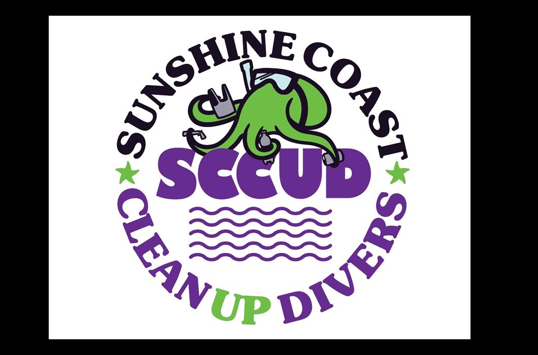 Sunshine Coast Clean Up Divers Logo